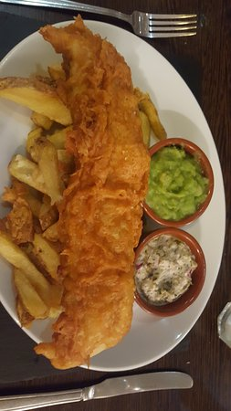 Milford Haven, UK: Fish and Chips