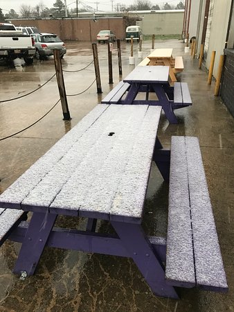 Outdoor Picnic Table Seating