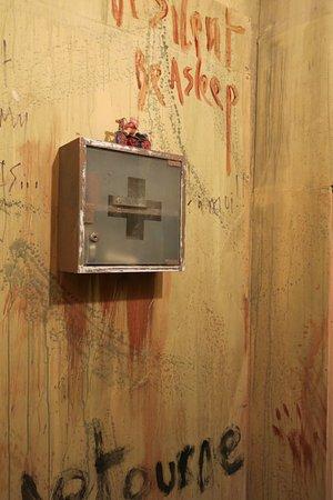 Robion, Francia: Panic Room