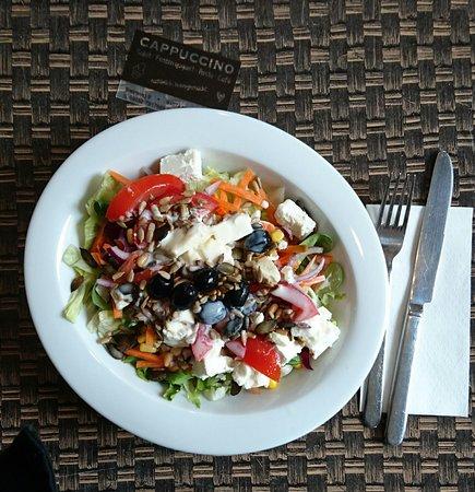 Herzogenaurach, Deutschland: Salad plate