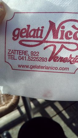 Photo of Italian Restaurant Gelateria Nico at Zattere/dorsoduro 922, Venice 30123, Italy