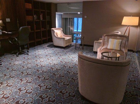 L'Hermitage Hotel: Libary