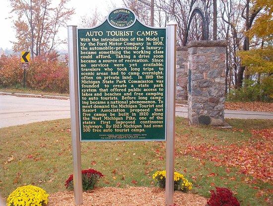 Hart, MI : Historical John Gurney Park
