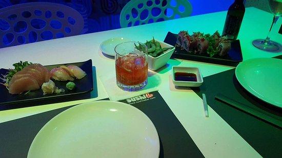 Sushi La Bar - Larnaca: Our starters :)