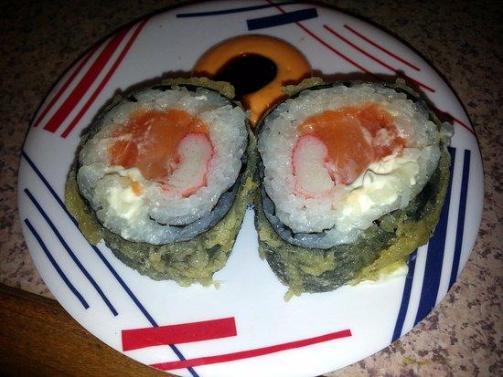 Sushi Station: 2 piece Godzilla roll
