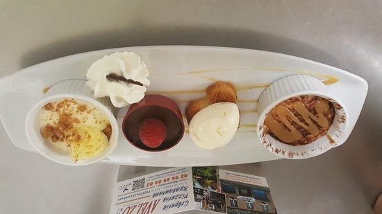 Plestin les Greves, Γαλλία: Palette de 4 desserts Avel Zo Plestin