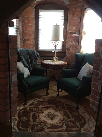 Decorah, IA: Reading nook in witch's turret