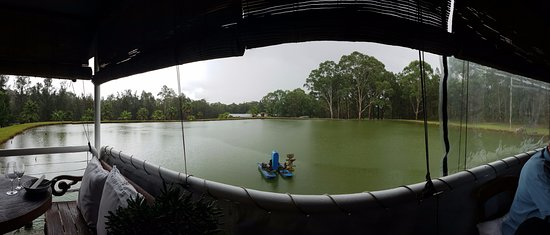 Lovedale, Australia: View from the over water deck!