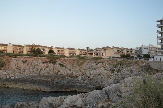 THB Guya Playa: von der Promenade aus