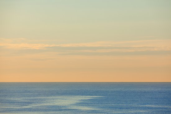 Long Beach, NY: Ocean at Dusk