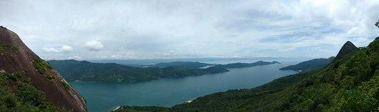 Pao de Acucar Peak: Panorámica do Saco do Mamanguá!!