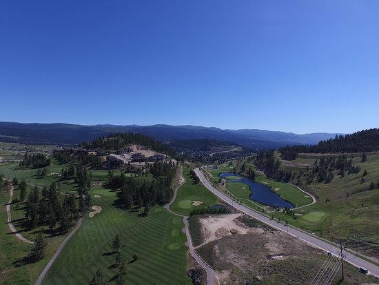 Kelowna, Canada: High Aerial View of our Front 9