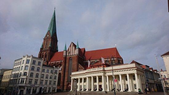 Schwerin, Allemagne : Außenansicht