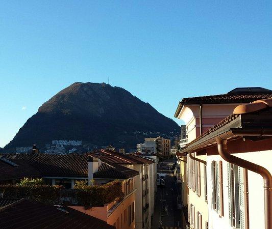 Lugano Dante Center Swiss Quality Hotel : Aussicht Zimmer 504