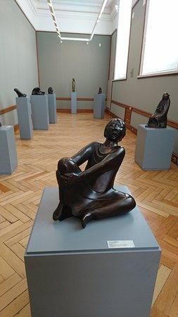 Schwerin, Allemagne : Barlach-Ausstellung