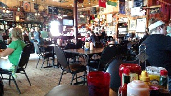 Jefferson, LA: Inside of restaurant
