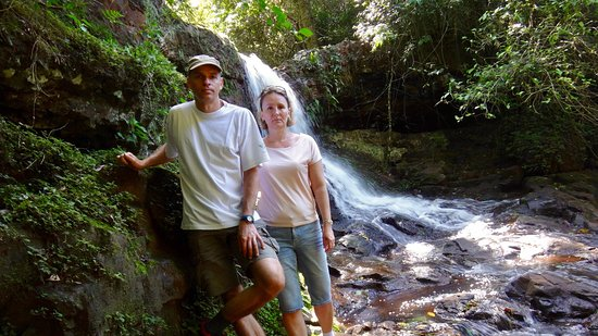 Puerto Libertad, Argentina: small waterfall within easy walk from the lodge