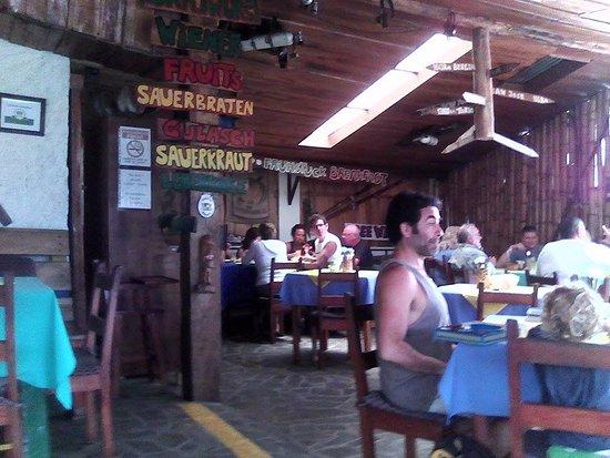 Нуэво-Ареналь, Коста-Рика: Sala de refeições