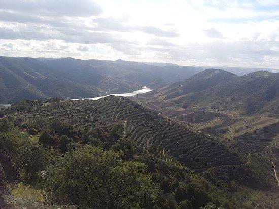 Carrazeda de Ansiaes, Πορτογαλία: Miradouro da Fraga da Ôla