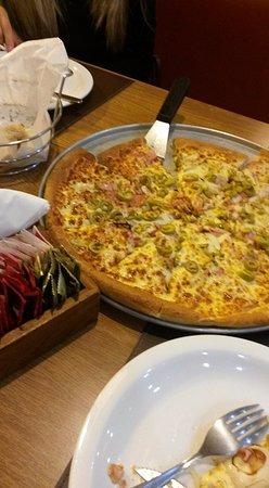 a estrela do jantar pizza hut