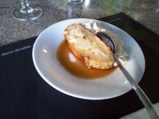 Les Borges Blanques, Spain: Puding