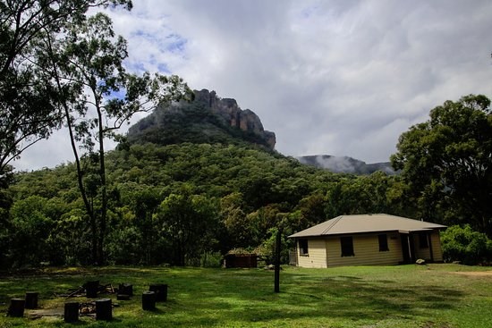 Wolgan Valley, Australia: view from one of the cabins