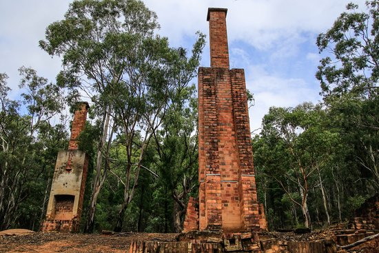 Wolgan Valley, Australia: ruins of the school(15 min walk from the cabin)