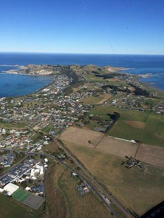 Kaikoura, Nueva Zelanda: Looking along the Peninsular