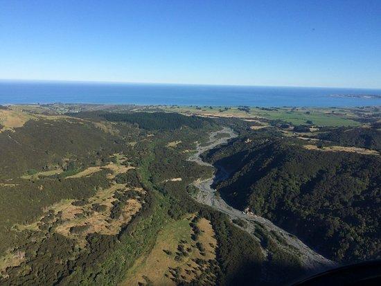 Kaikoura, Yeni Zelanda: Hapuku River