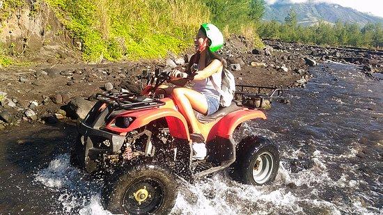 Mayon Volcano : Super fun atv ride