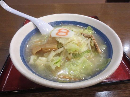 Sabae, Japan: 野菜ラーメン塩