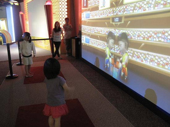 Macao Science Center: 互動遊戲