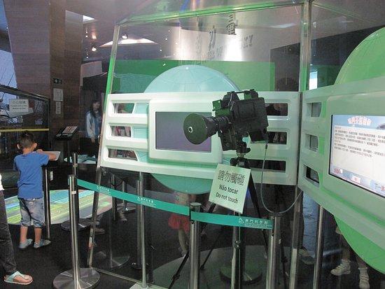 Macao Science Center: 扮演電視台報導新聞
