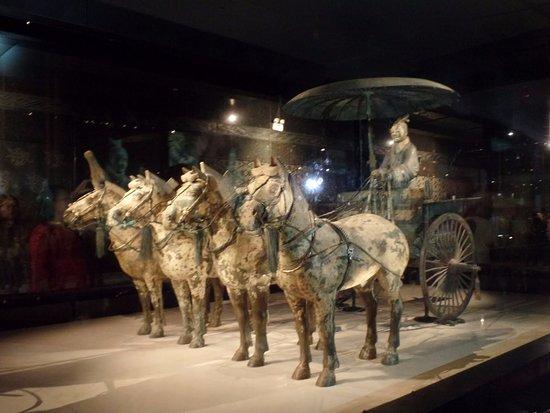 Bronze Chariot No 1 - Picture of The Museum of Qin Terra ...  Bronze Chariot ...