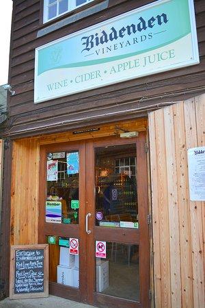 Biddenden, UK: the shop