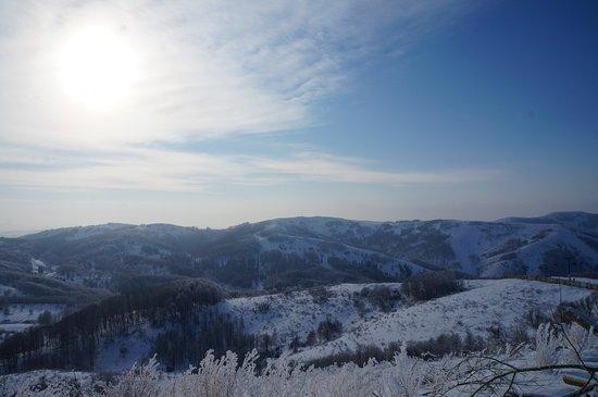 Oskemen, Kazachstan: Вид со склона
