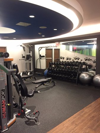 Fitness Center Incredibly Well Equipped Picture Of Even Hotel