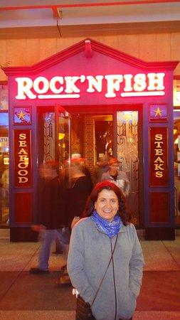 Rock'N Fish: ah, saímos já no escuro..mas entramos cedo...