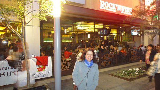 ..adorei dar um giro à noite também em L.A. após jantar no Rock´n Fish