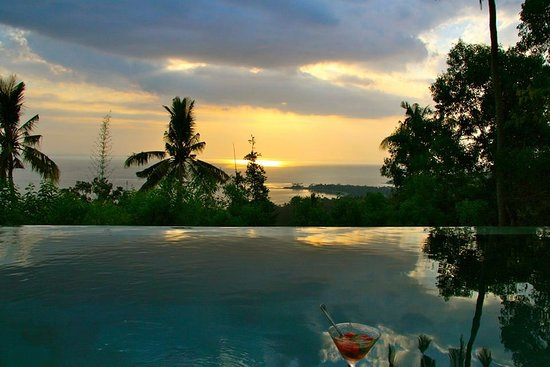 The Puncak : Magic moments by sunset from all the rooms