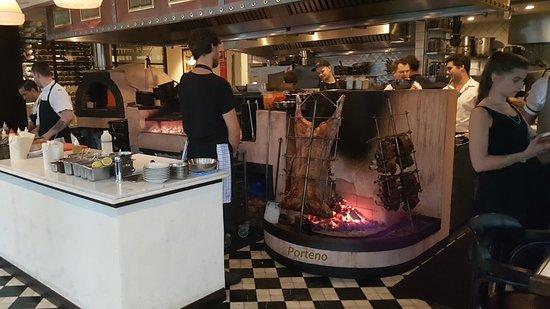 Photo of BBQ Joint Porteno at 50 Holt Street, Sydney, Ne 2010, Australia