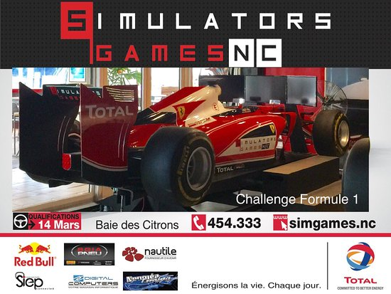 Simulators Games NC