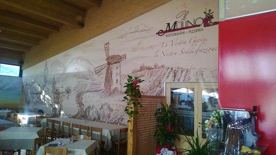 Gualdo Cattaneo, Italia: Ristorante Pizzeria Il Mulino