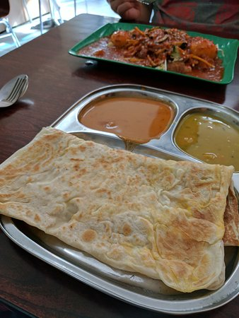 Forest Hill, Australia: 2meat + 2veges $10.50 Roti egg and cheese $7 Passembur $10
