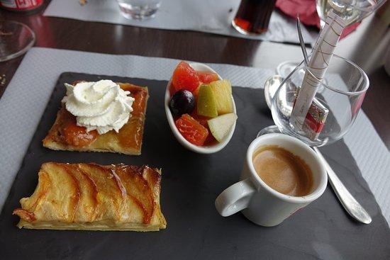 """La Regence: café gourmand du jour ... oui c'est par """"gourmandise"""" ... 100%"""