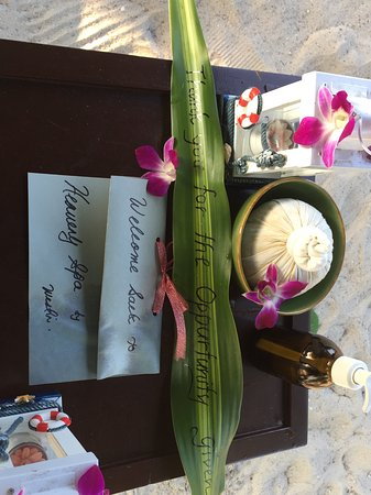 Heavenly Spa by Westin : A special touch; much apprecaited