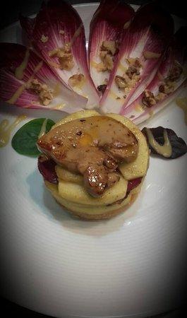 Beaumont de Lomagne, France: tatin au foie gras