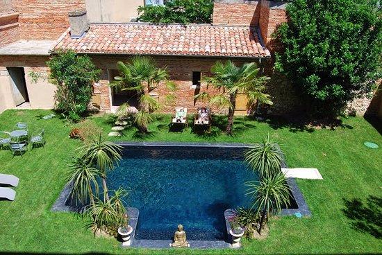 Beaumont de Lomagne, France: Jardin