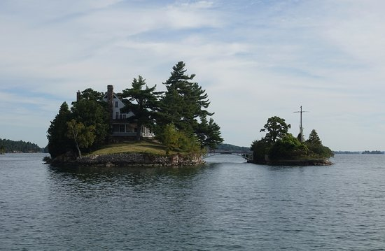 Gananoque, Kanada: 攝於:Thousand islands