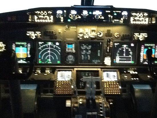 737 flight simulator - Picture of Virtual Aerospace Japan